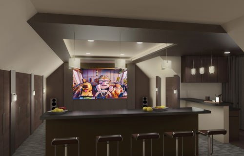 design build - Home Theater Design Dallas