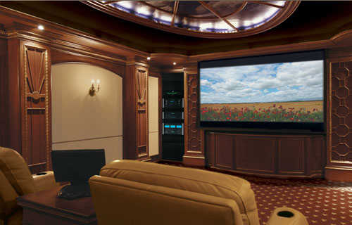 media room packages - Home Theater Design Dallas