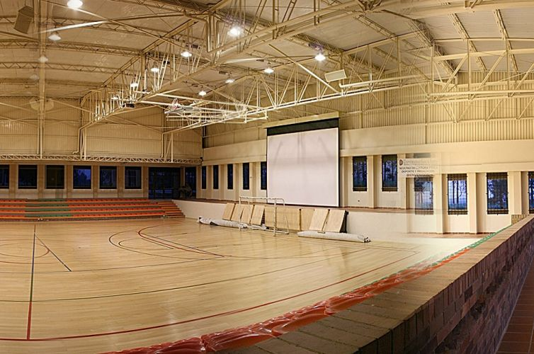 High school auditorium installation, Fort Worth, TX